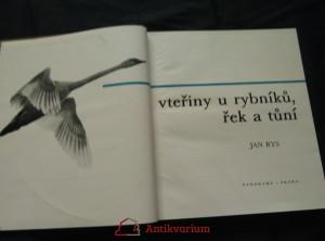 antikvární kniha Vteřiny u rybníků, řek a tůní (253 čb foto, 16 bar. příl.), 1981