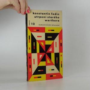 náhled knihy - Utrpení starého Werthera aneb O práci spisovatelské