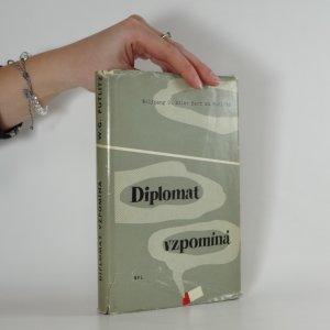 náhled knihy - Diplomat vzpomíná