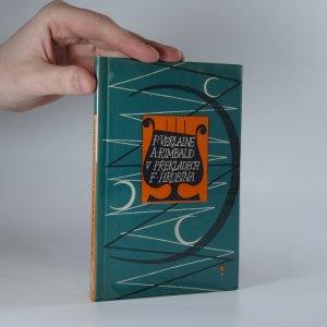 náhled knihy - P. Verlaine, A. Rimbaud v překladech F. Hrubína. Mé tuláctví