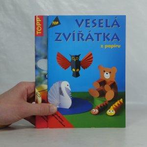 náhled knihy - Veselá zvířátka z papíru I a II (2 svazky)