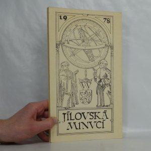 náhled knihy - Jílovská minucí