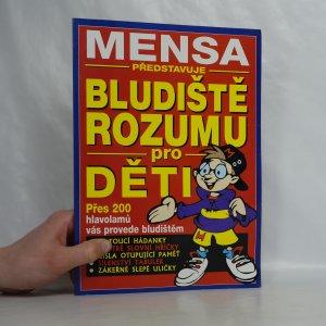 náhled knihy - Mensa představuje bludiště rozumu pro děti