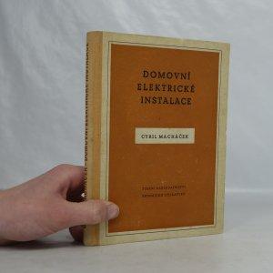 náhled knihy - Domovní elektrické instalace