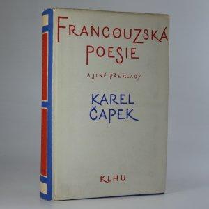 náhled knihy - Francouzská poesie. Překlady.