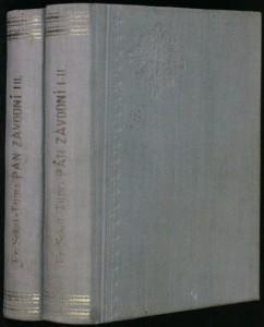 náhled knihy - Pan závodní, 1.-2. díl
