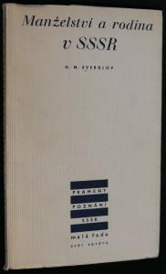 náhled knihy - Manželství a rodina v SSSR