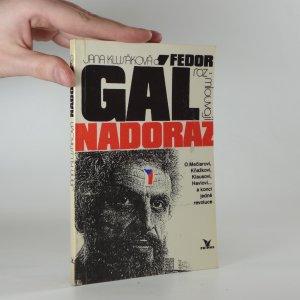 náhled knihy - Jana Klusáková a Fedor Gál rozmlouvají nadoraz