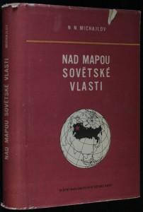 náhled knihy - Nad mapou sovětské vlasti