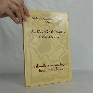 náhled knihy - Acta Oeconomica Pragensia. Ročník 9. Číslo 7/2001