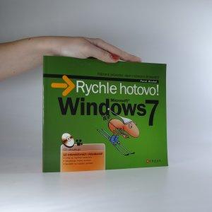 náhled knihy - Microsoft Windows 7. Rychle hotovo! Názorný průvodce všemi běžnými činnostmi