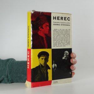 náhled knihy - Herec : vzpomínky národního umělce Zdeňka Štěpánka