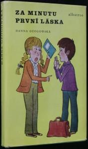 náhled knihy - Za minutu první láska : pro čtenáře od 10 let