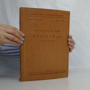 náhled knihy - Fysika II. Část 2. Elektrokinetika