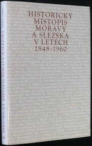 náhled knihy - Historický místopis Moravy a Slezska v letech 1848- 1960, svazek 12.