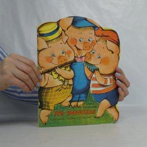 náhled knihy - Три поросёнка. (Tři malá prasátka)