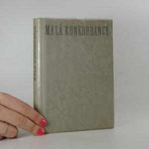 náhled knihy - Malá konkordance. Biblický ukazatel.