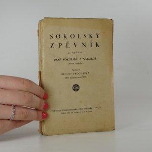 náhled knihy - Sokolský zpěvník. Písně sokolské a národní.