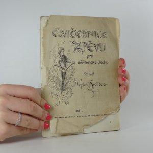 náhled knihy - Cvičebnice zpěvu pro měšťanské školy. Díl I.