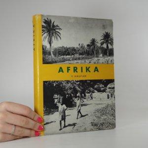 náhled knihy - Afrika. Nástin geografie kontinentu.