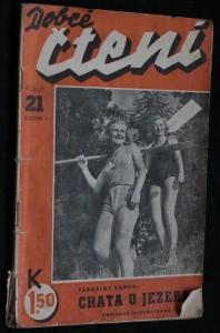 náhled knihy - Chata u jezera (Dobré čtení č. 21 )