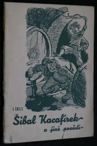 náhled knihy - Šibal Kacafírek a jiné pověsti