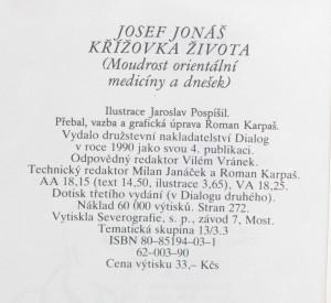 antikvární kniha Křížovka života : moudrost orientální medicíny a dnešek, 1990
