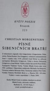 antikvární kniha Písně šibeničních bratří, 2000