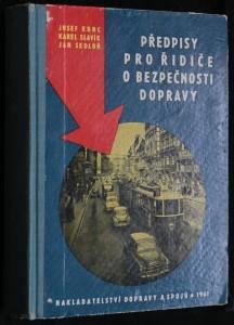 náhled knihy - Předpisy pro řidiče o bezpečnosti dopravy