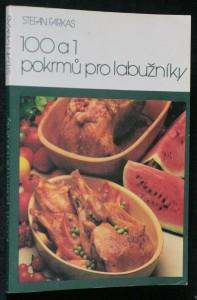 náhled knihy - 100 a 1 pokrmů pro labužníky