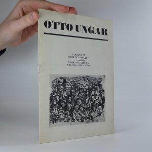 náhled knihy - Otto Ungar. Terezínské obrazy a kresby
