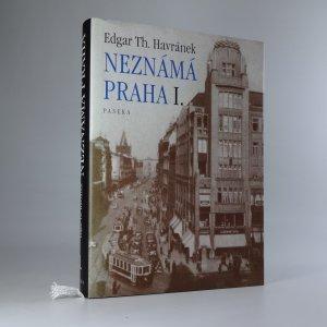 náhled knihy - Neznámá Praha I.