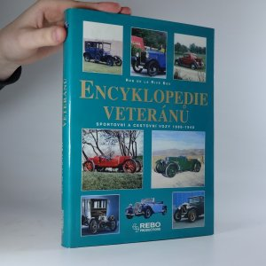 náhled knihy - Encyklopedie veteránů. Sportovní a cestovní vozy 1886–1940