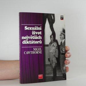 náhled knihy - Sexuální život největších diktátorů