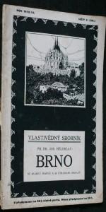 náhled knihy - Vlastivědný sborník: Brno, sešit 3. (38.)