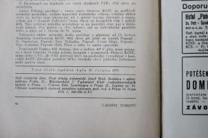 antikvární kniha Časopis turistů r. XLV. č.3., 1933