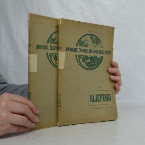 náhled knihy - Soubor spisů Václava Klimenta Klicpery. Díl II., Dramatické práce vážné. Část I. a II.