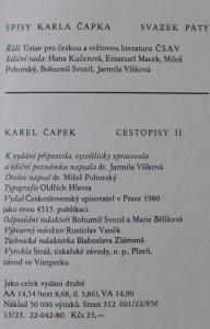 antikvární kniha Cestopisy I-II, 1980