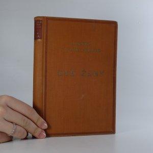 náhled knihy - Dvě ženy