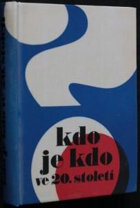náhled knihy - Kdo je kdo ve 20. století