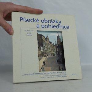 náhled knihy - Písecké obrázky a pohlednice. Vnitřní město - ulice - budovy - interiéry.