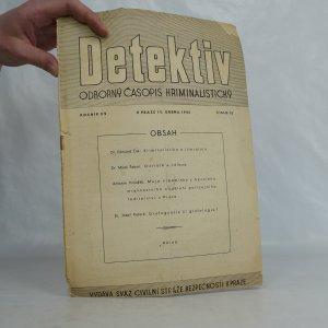 náhled knihy - Detektiv: Odborný časopis kriminalistický, ročník 15, číslo 15