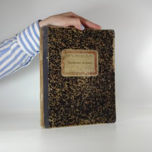 náhled knihy - Kuchařské předpisy. (Psáno ručně)