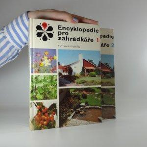 náhled knihy - Encyklopedie pro zahrádkáře. (2 díly ve dvou svazcích)