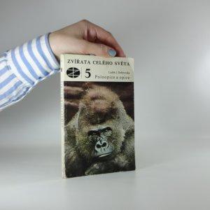 náhled knihy - Poloopice a opice