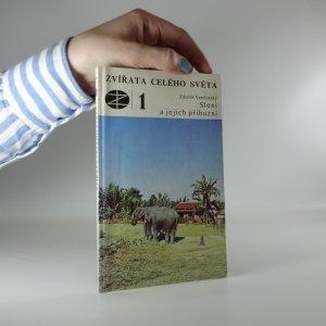 náhled knihy - Sloni a jejich příbuzní
