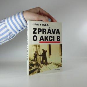 náhled knihy - Zpráva o akci B