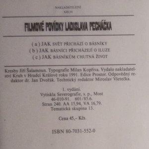 antikvární kniha Filmové povídky Ladislava Pecháčka, 1991