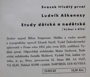 antikvární kniha Etudy dětské a nedětské : výbor z díla, 1963