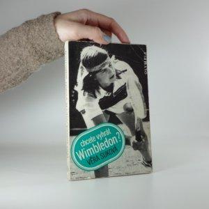 náhled knihy - Chcete vyhrát Wimbledon?